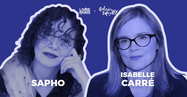 Sapho et Isabelle Carré