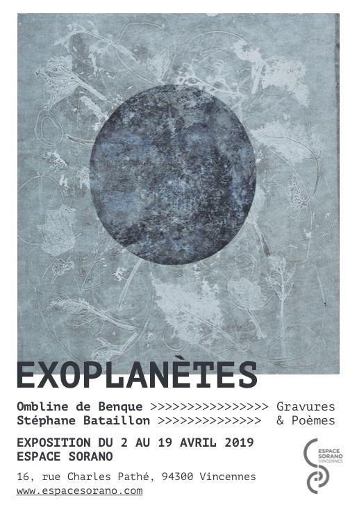 Affiche Exoplanètes