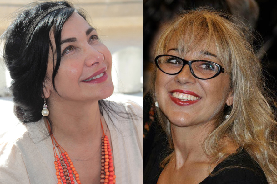 Maram al-Masri et Sonia Maria Luce Possentini