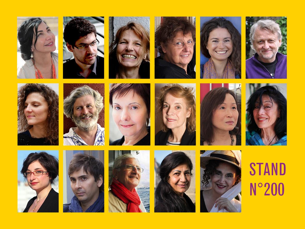 Auteurs Marché de la poésie