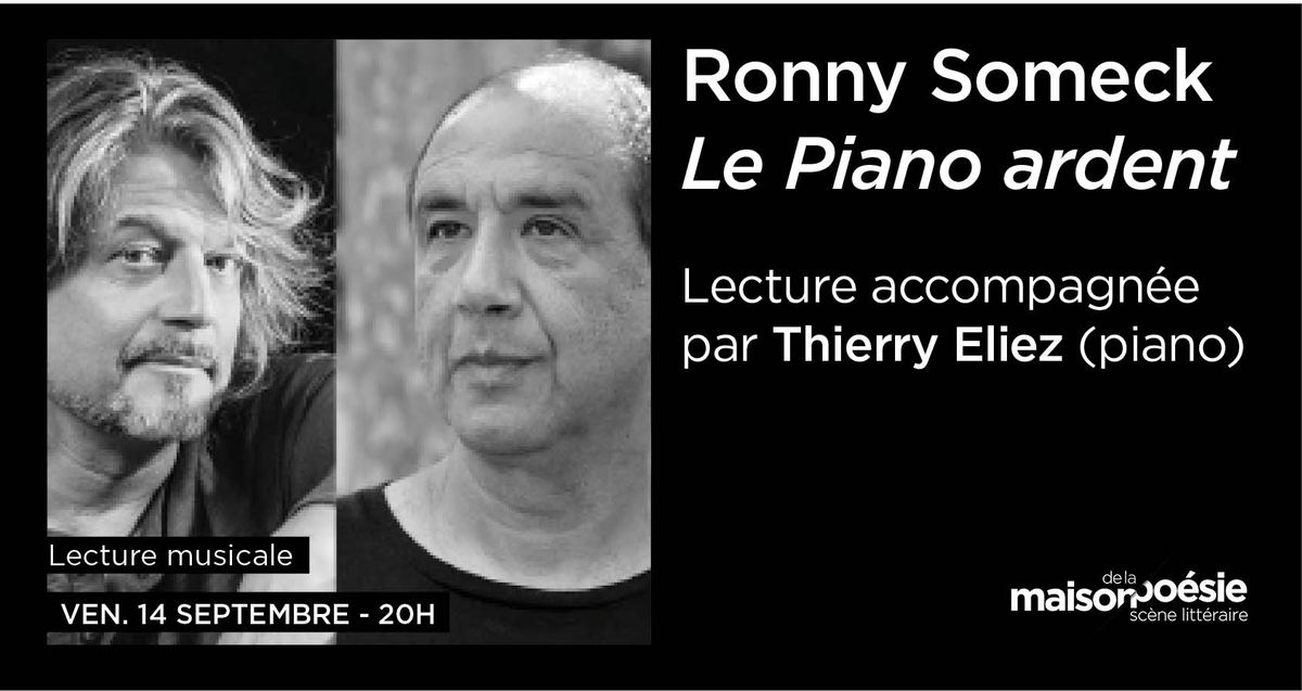 Thierry Elliez et Ronny Someck